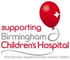 Supporting Birmingham Children's Hospital Logo